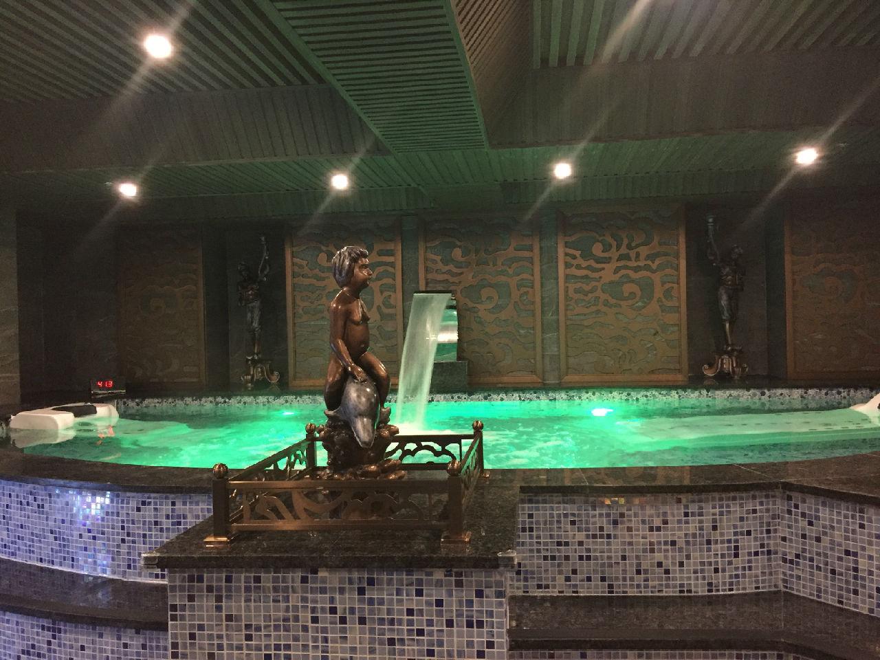 江西吉安新世界国际水汇水疗池